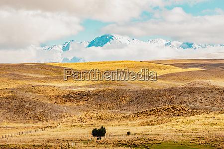 neuseeland landschaftlich reizvolle berglandschaft die im