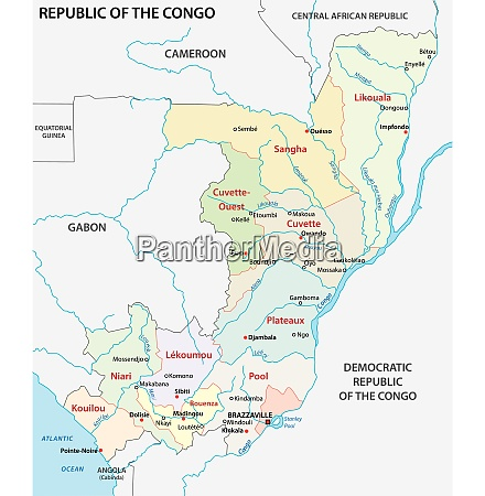 republic of the congo administrative and