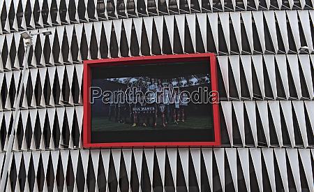 fassade von mames stadion in bilbao