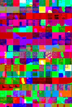 abstrakte farbenfrohe design kunstwerke mit dynamischen