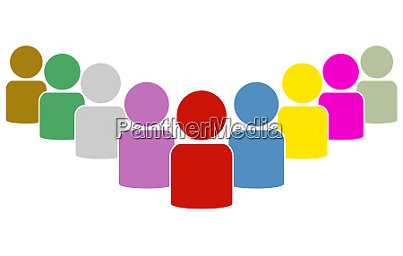 group icon colorful