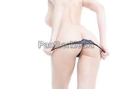sexy kurven maedchen butt ohne cellulite