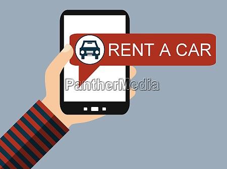handy rent a car flat