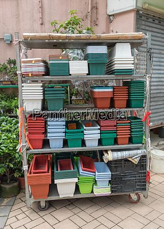 flower pots shelf