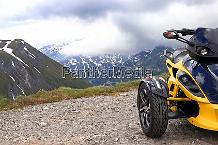 motorsport im hochgebirge mit dem spyder