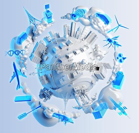 wirtschaft technologie energie industrie verkehr kommunikation