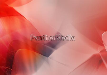 abstraktes bild von rot wirbelnden wolken