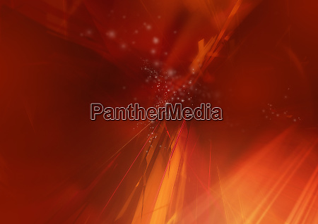 abstract image of red lights and