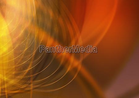 abstraktes bild von roten und gelben