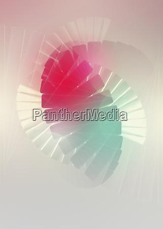 abstrakte wirbelnde farben