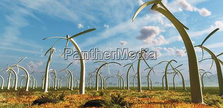 stationseinbruchspender auf windpark abtrostlos