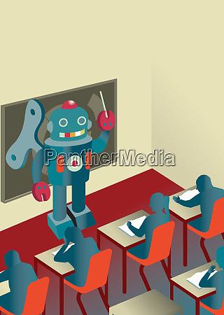 roboter unterrichten schueler