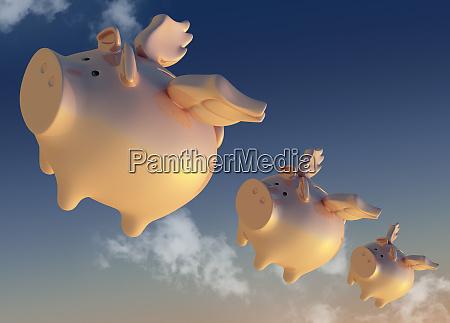 fliegende sparschweinbaenke