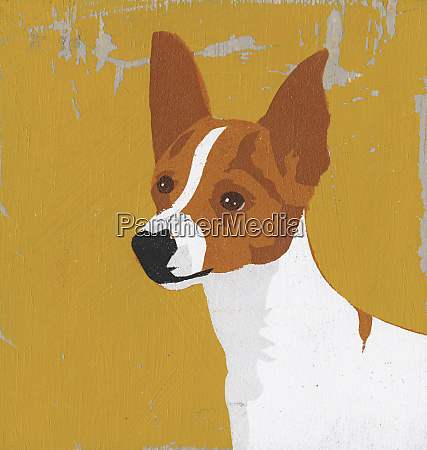 portraet des amerikanischen spielzeug terriers