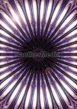 geometric purple and white pattern