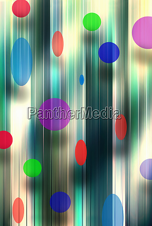 abstract multicolored polka dot backgrounds pattern