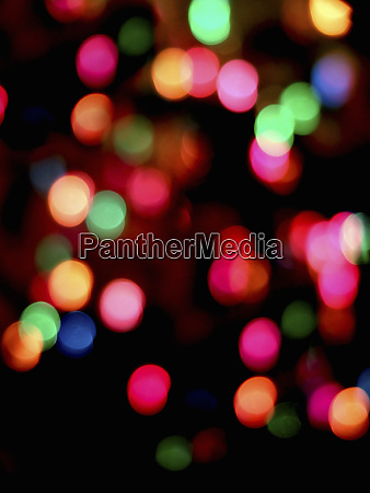 abstract multicolored glowing lights