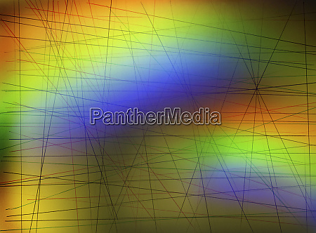 abstract network of intersecting lines on