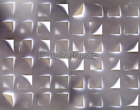 abstract pattern of light shining through