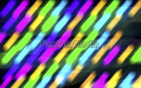 bright glowing multicolored neon abstract background