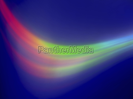 blurred fluorescent abstract background wave pattern
