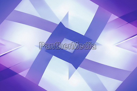 abstract symmetrical pattern of crisscrossing purple