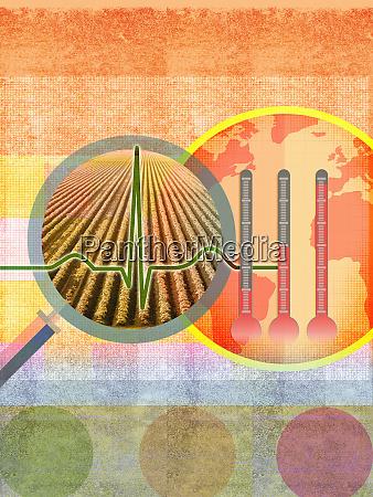 gesundheit der landwirtschaft und der globalen