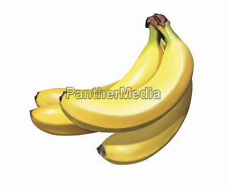 close up of bunch of bananas