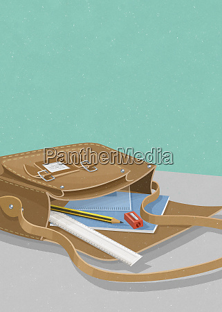 pencil ruler pencil sharpener protractor and
