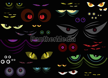 variety of bright colorful pairs of