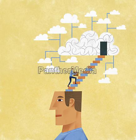 der mensch organisiert und speichert ideen