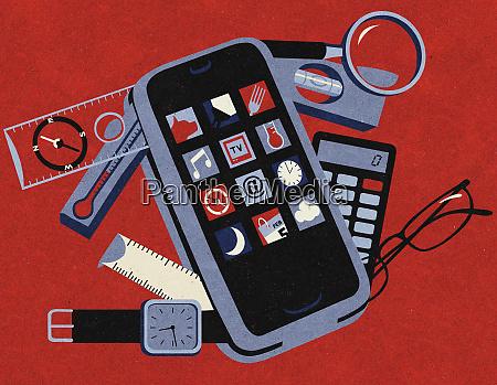 useful mobile apps on handy smart