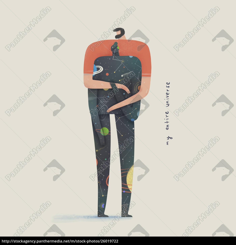 der, mann, umarmt, männlichen, partner, der, das - 26019722