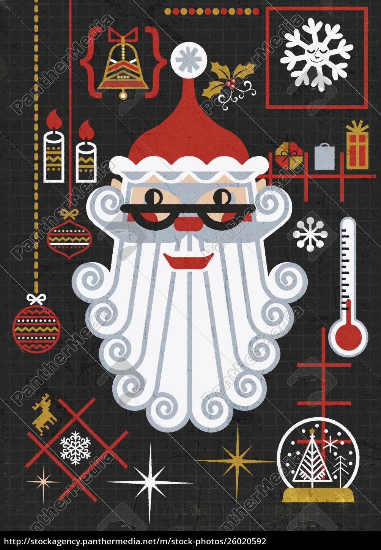weihnachts-und, weihnachtsschmuck - 26020592