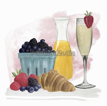 champagne breakfast
