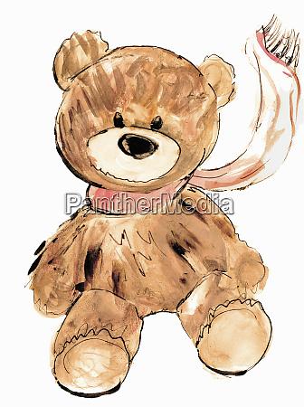 portraet des teddybaeren