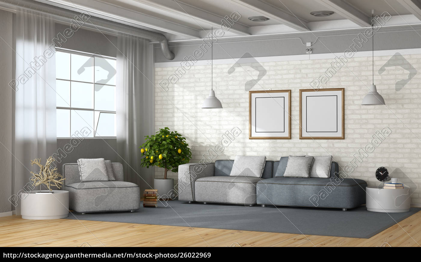 Stockfoto 10 - modernes wohnzimmer im