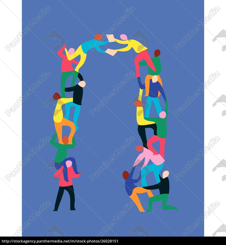 zwei, personen, zusätzlich, zu, unterstützenden, partnern, die - 26028151
