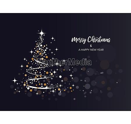 brightness christmas tree background