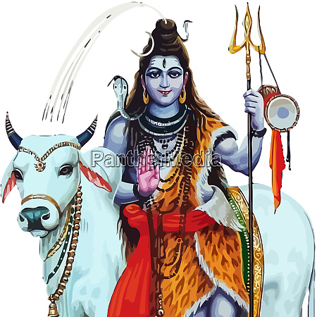 maha shivaratri herr gott hinduismus ox