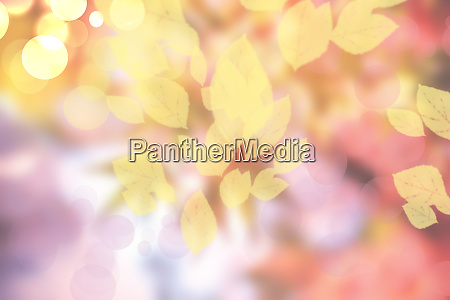 abstrakte herbst gradient gelb rosa helle