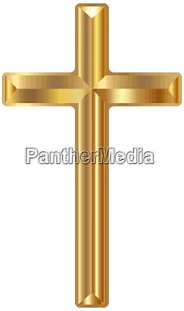 goldene christliche kreuzkreuzkorrekruzierung esus heilige gebetsbild