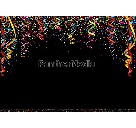 happy new year colorful confetti background