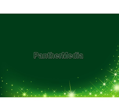 green magical sparkle wave background