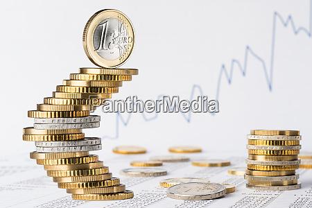 finanzgeschaeft euro aktie hintergrund
