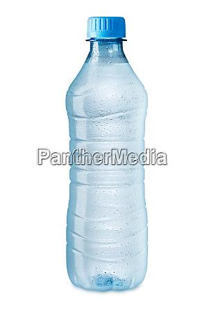 eiskalte wasserflasche