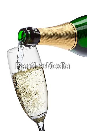 champagner giessen
