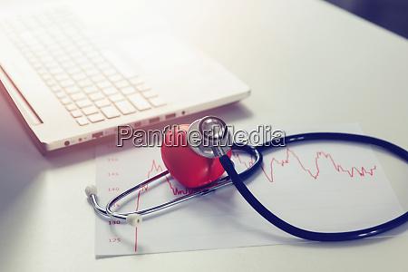 heart health cardiology concept