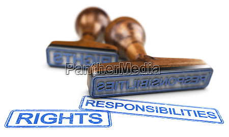 rechte und verantwortlichkeiten ueber den weissen