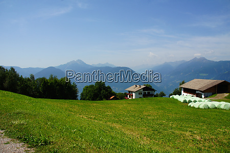 view from oberhafling near merano in